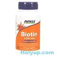 【NOW 健而婷】Biotin 生物素 5000 mcg