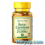 【PURITAN'S PRIDE 普瑞登】Beta Carotene β胡蘿蔔素