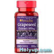 【PURITAN'S PRIDE 普瑞登】Grapeseed OPC葡萄籽精華素