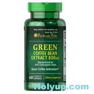 【PURITAN'S PRIDE 普瑞登】Green Coffee Bean Extract 綠咖啡豆萃取物