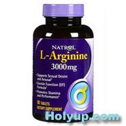 【NATROL】L-Arginine 左旋精胺酸