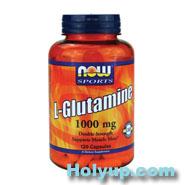 【NOW 健而婷】L-Glutamine 顧他命 左旋麩醯胺酸 120粒