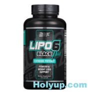 【NUTREX RESEARCH】LIPO 6 BLACK Hers 女用黑色熾天使