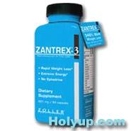 【ZOLLER 小甜甜減肥藥】ZANTREX-3 小甜甜瘦身秘方